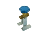 Клапан запорный R-1409-250 (на кронштейнах)