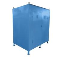Шкаф ШКАПБ-001 для газовых баллонов (усиленный)